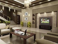 Luxo de sala de estar.