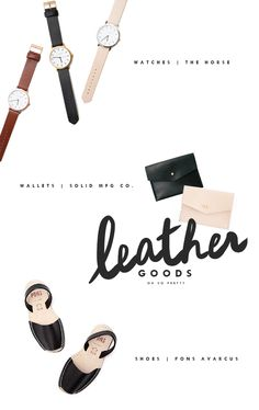 Parc Boutique Leather Goods | Oh So Pretty Blog
