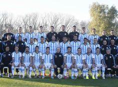 Mundial Brasil 2014: La foto oficial de la selección Argentina | Mundial Brasil 2014
