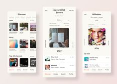 Discover Playlists   Music App Redesign by Tasha