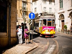 Tranvía 12. Lisboa.