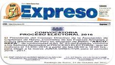 LAS  FUERZAS   DEL   ORDEN  :   FFAA  Y  PNP: CONVOCATORIA ASCOREFA