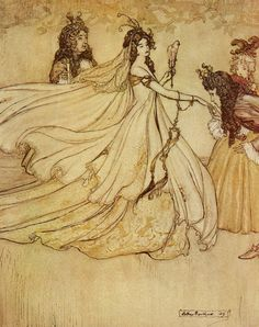 Arthur Rackham - Cinderella