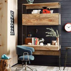 Loft desk? http://www.westelm.com/products/rustic-modular-48-desk-h967/?pkey=coffice-desks