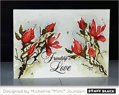 Featuring Penny Black's newest release of stamps and dies, BLISS 2017... click through for more and a GIVEAWAY