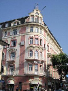 Hotel Arcotel Moser Verdino (1907), Klagenfurt, Austria  http://www.arcotelhotels.com/de/moser_verdino_hotel_klagenfurt/