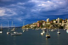 Double Bay Sydney Harbour - Light before the Storm | Flickr - Photo Sharing!