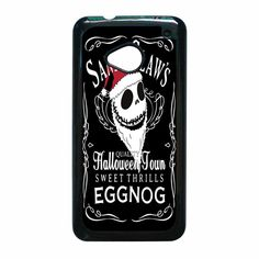 ack Skellington Blood Whiskey HTC One M7 Case