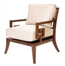 Santorini Lounge Chair - Two Colors by David Francis Furniture