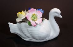 Vintage Very Rare Cotswold Floral English Bone China Swan Flower Bouquet https://treasurevalleyantiques.com/products/vintage-very-rare-cotswold-floral-english-bone-china-swan-flower-bouquet #Vintage #VeryRare #Rare #Cotswold #Floral #Flowers #English #England #BoneChina #FineChina #EnglishBoneChina #Swans #Birds #Bouquets #Collectibles #GiftIdea #ShopNow #BuyNow #VisitUs