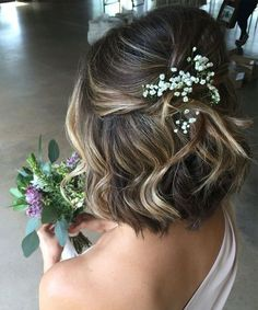 20 Jaw Dropping Wedding Hairstyles 2017 – 2018 for Short Hair