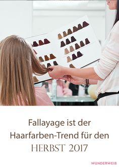 So hübsch: Fallayage ist der Herbst-Trend 2017 für deine Haare!