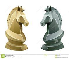 Resultado de imagem para horse chess piece