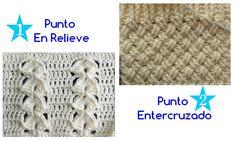 Hoy vamos a aprender a tejer el punto entrecruzado, también conocido como punto cesta y lo punto relieve combinado. Sonbonitas puntadas para tejer tejidosque necesiten estar bien cerrados.Elije