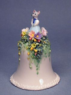 Porcelain bells by Elena Zotova