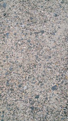 Sandboden auf dem Hof