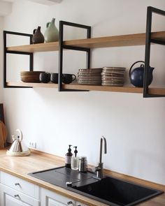 Welded Furniture, Iron Furniture, Home Furniture, Furniture Design, Home Room Design, Interior Design Kitchen, Home Decor Kitchen, Home Kitchens, Kitchen Trends