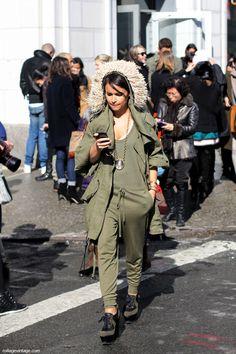 Miroslava  #street #style #fashion