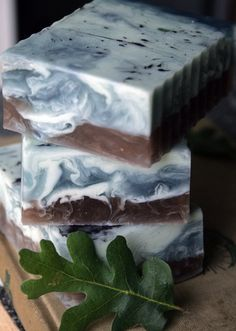 blue oak olive oil soap from savor on etsy $5.5