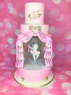 Ballerina cake by madlcreations