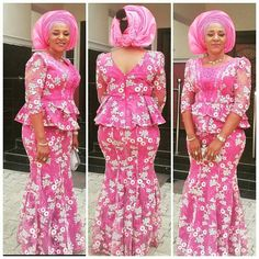 Beautiful Lace Skirt and Blouse Styles for Owambe Rockers...Beautiful Lace Skirt and Blouse Styles for Owambe Rockers
