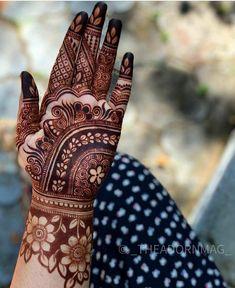 Floral Henna Designs, Khafif Mehndi Design, Latest Bridal Mehndi Designs, Stylish Mehndi Designs, Mehndi Designs 2018, Henna Art Designs, Mehndi Designs For Beginners, Mehndi Designs For Girls, Mehndi Design Photos