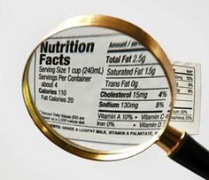Teachers' Domain: Ratio and Proportional Reasoning: Food Labels