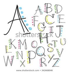 Illustration about Black colorful alphabet uppercase letters.Hand drawn written with a soft watercolor paint brush chalk pencil. Illustration of language, background, alphabet - 63342137 Hand Lettering Alphabet, Doodle Lettering, Lettering Styles, Brush Lettering, Brush Font, Fun Fonts Alphabet, Calligraphy Alphabet, Alphabet Letters Design, Lettering Ideas