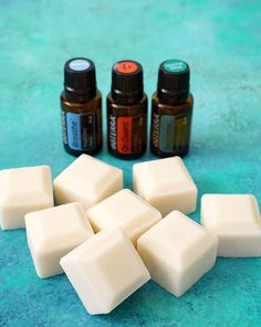 DIY Cough & Cold Chest Rub Bars are a healthy all-natural remedy for coughing and congestion - made with coconut oil, beeswax, shea butter and essential oils.