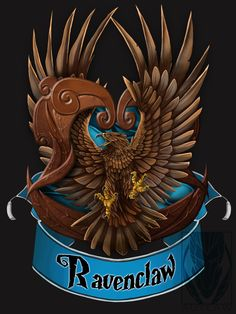 I was so confused when I found out the bird was an eagle, I always thought it was a raven, because it's Ravenclaw