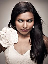 """If I met... Mindy Kaling I would probably... challenge her to a speed talking competition... Loser sits through the winner's """"fashion show at lunch."""" Love her as Kelly."""