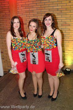 Selbstgemachtes Kostüm für den Fasching --> Kaugummiautomat   Fasching, Karneval, Kostüm, Costume
