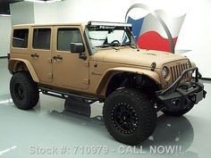 2015 matte tan and black customized jeep wrangler. Black Bedroom Furniture Sets. Home Design Ideas