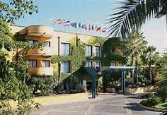 Front of our hotel, Caesar's Palace, in Giardini Naxos near Taormina, Sicily...slj