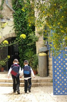 To school. Tzfat, ISRAEL Israel.                       (Travel, photography, travelphotography, travelinspiration)
