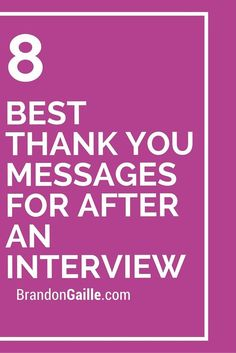 8 Best Thank You Messages For After an Interview Testdrive a auto responder Mailing Boss free for 7 days Interview Follow Up Email, Interview Thank You Notes, Letter After Interview, Interview Answers, Interview Skills, Job Interview Questions, Job Interview Tips, Job Interviews, Interview Process