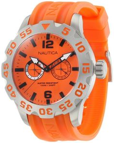 Neon Nautica watches are perfect for rainy days.