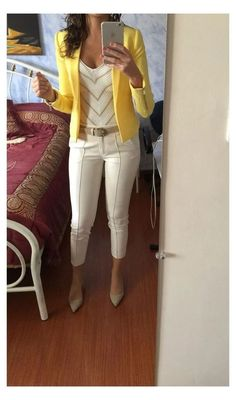 Stylish Work Outfits, Business Casual Outfits, Office Outfits, Work Casual, Classy Outfits, Chic Outfits, Fashion Outfits, Casual Work Outfit Summer, Office Wear