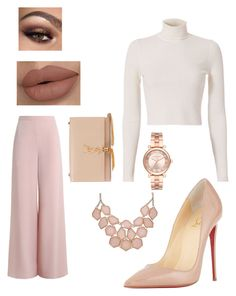 """n°15"" by marieatiiiik on Polyvore featuring Zimmermann, A.L.C., Christian Louboutin, Michael Kors and Yves Saint Laurent"