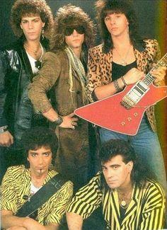Bon Jovi. Love Richie's guitar.