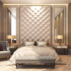 50 Luxury Bedroom Design Ideas that you Definitely want for your Dream Home - Bedroom Decoration - Luxury Bedroom Furniture, Luxury Bedroom Design, Luxury Rooms, Master Bedroom Design, Luxurious Bedrooms, Home Bedroom, Furniture Design, Bedroom Decor, Luxury Bedding