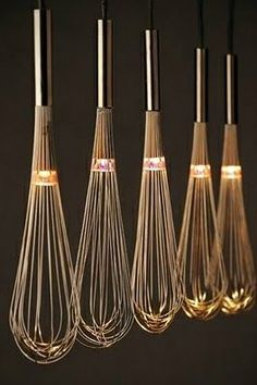 Wire whisk lights