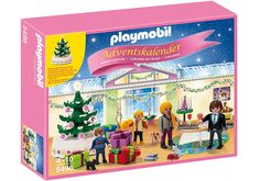 Playmobil 5496 Advent Calendar Christmas Room with Illuminating Tree
