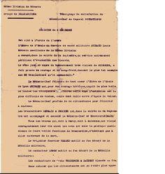 Témoignage de satisfaction, décision du 6 déc. 1914