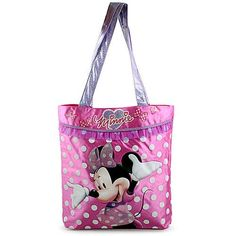 Minnie Mouse Satin Tote Bag