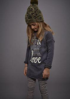 Vêtement fille IKKS : Chemise en jean et jupe fille