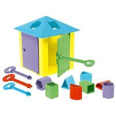 Pim Pam Pum - Casa das Chaves  Esse brinquedo é muito completo. Tem, pelo menos, uns 30 anos.