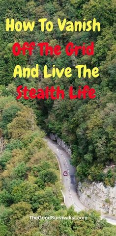 If you've ever wanted to really vanish off the grid and live the stealth life, or just protect your privacy this amazing video will show you how to get started. http://www.thegoodsurvivalist.com/how-to-vanish-off-the-grid-and-live-the-stealth-life/