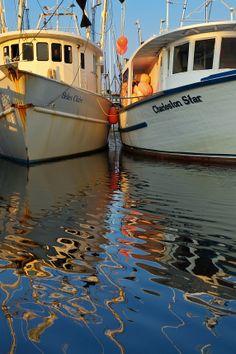 ...♥♥  Shrimp Boats, Shem Creek, Mount Pleasant, SC