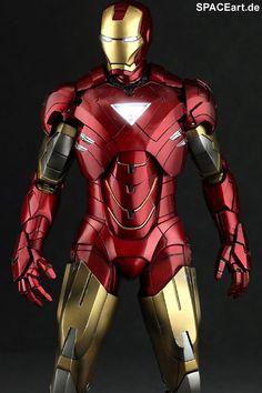 Iron Man 2: Mark VI - Deluxe Figur